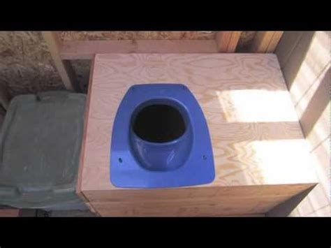 Diy Composting Toilet Youtube by Diy Composting Toilet Part 2 Youtube