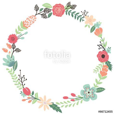 doodle lingkaran quot vintage flowers wreath quot stockfotos und lizenzfreie