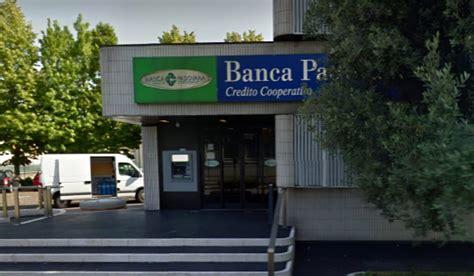 banca credito cooperativo di roma banca di credito cooperativo di roma gatteo rapina alla