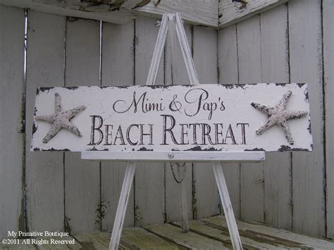 beach house signs beach wedding sign beach house sign by myprimitiveboutique on etsy
