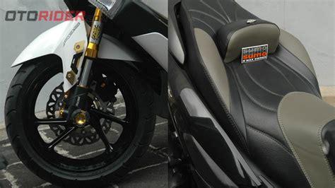 Per Cvt Orisinil Honda Pcx Cocok Untuk Vario 125 Fi modifikasi dua yamaha nmax 2016 edisi hitam putih siap turing