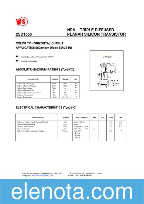transistor d1555 datasheet transistor d1555 datasheet pdf 28 images d1554 datasheet pdf toshiba datasheets d1554