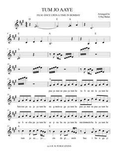 VIOLIN NOTES FOR BOLLYWOOD sheet music Book MILLENNIUM