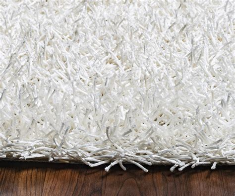 solid white rug kempton ultra plush tufted area rug in solid white 5 x 7