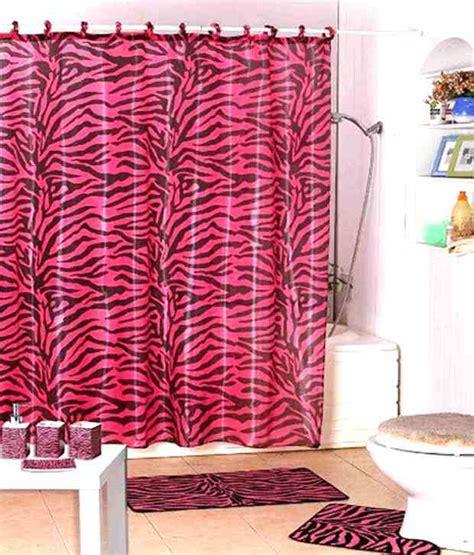 kids jungle shower curtain shower curtain jungle kids safari pink zebra design with