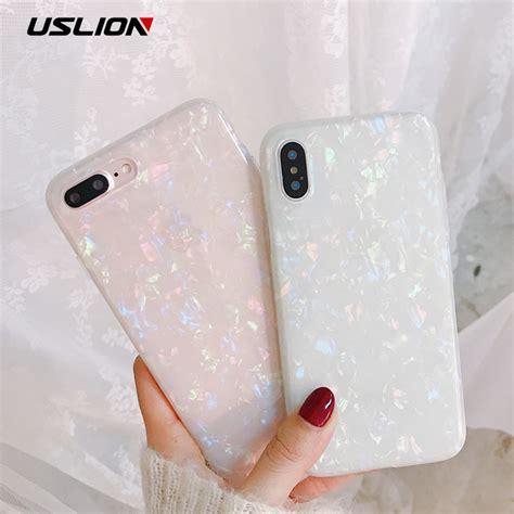 uslion glitter phone case  iphone    dream shell