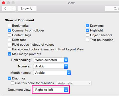 format footnotes word mac 2016 type in a bi directional language in office 2016 for mac