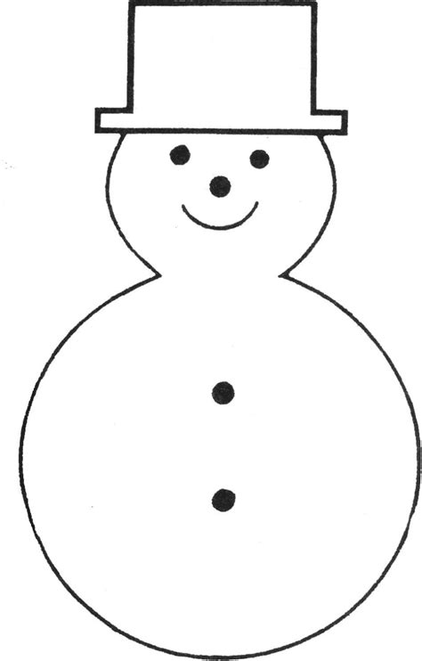 printable template of snowman free printable snowman template christmas templates