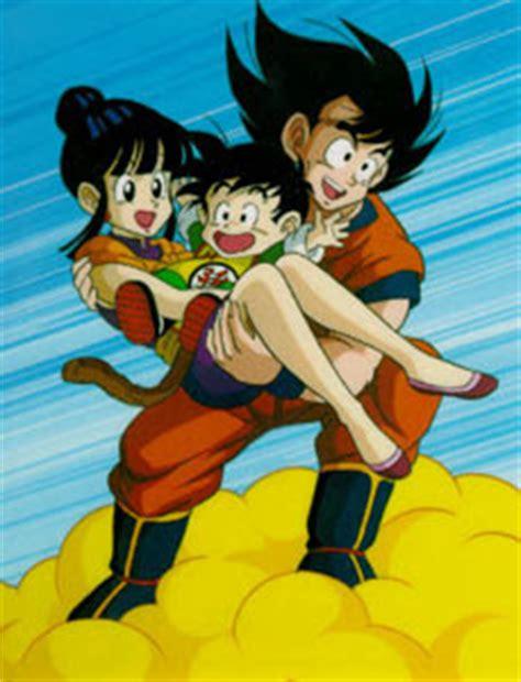 imagenes de la familia de goku el amor en dragon ball en familia