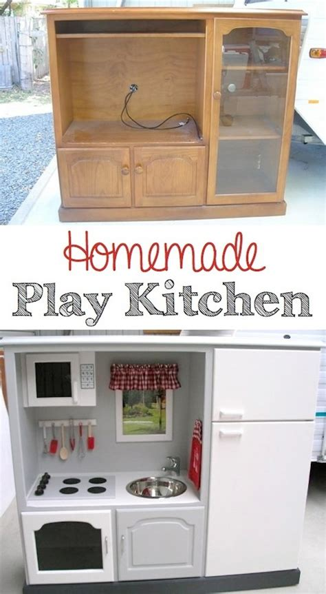 homemade play kitchen ideas 19 incredible diys for old furniture diy crafts ideas