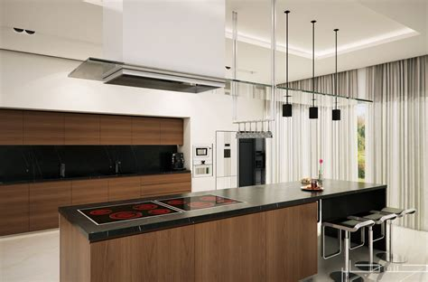 modern kitchen cgarchitect professional 3d architectural visualization