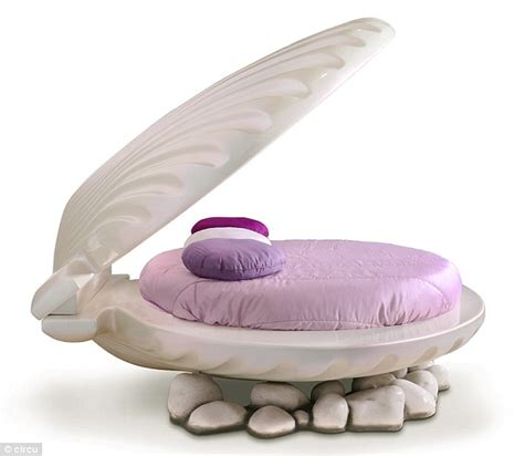 Clamshell Bed by Mermaid Inspired Clamshell Bed Costs 16 000
