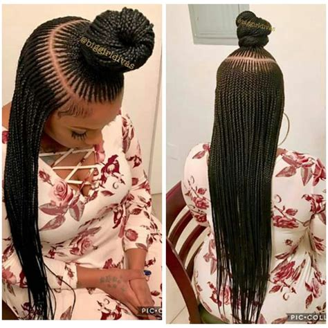 Stunningly Cute Ghana Braids Styles For 2018   Hair style