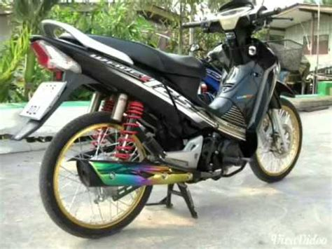 Sticker Honda Wave 100 Thailand by Cover With Sticker On Honda Wave 125i 2015 Doovi