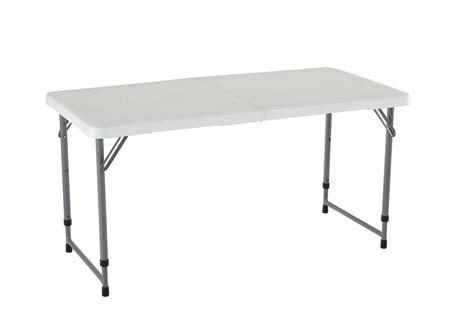 4 ft folding adjustable portable 4 foot adjustable height folding storage