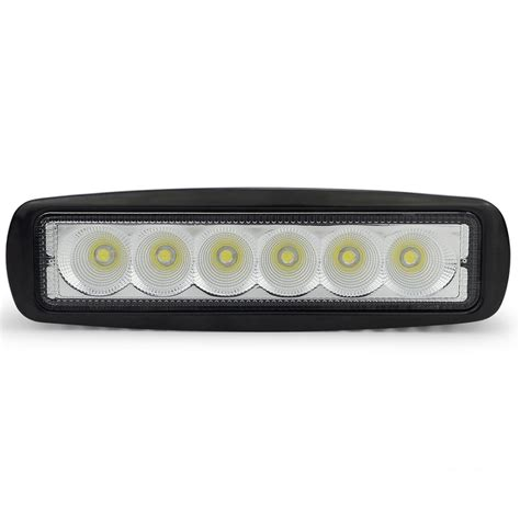 led light bar for car 18w mini led car work light bar spot flood for car light