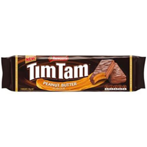 Timtam Peanut Butter arnotts tim tam peanut butter flavour australian and new