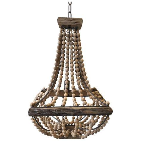 Oak Chandelier style oak driftwood chandelier at 1stdibs