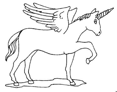 unicornio imagenes para pintar imagen zone gt dibujos para colorear gt mitologia unicornios