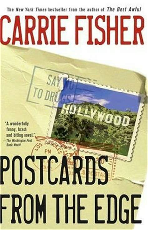Book Review Postcards From The Edge By Carrie Fisher by Postcards From The Edge Suzanne Vale Book 1 By Carrie