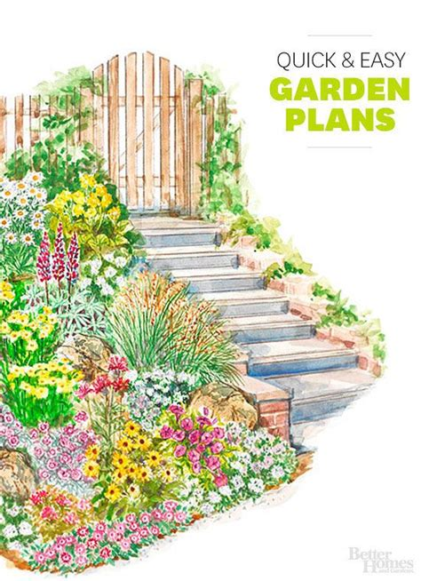 Garden Plan Ideas This Is The Year To Tackle Your Yard It A