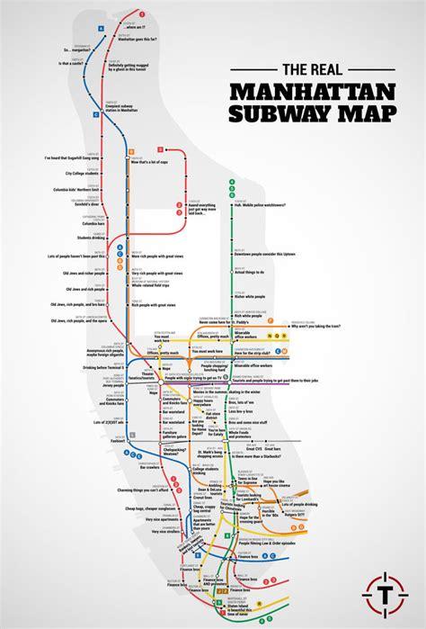 subway map new york city manhattan judgemental nyc subway map
