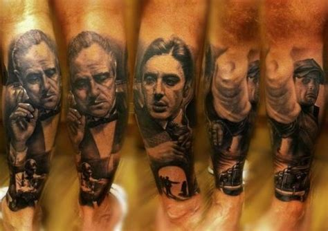 godfather tattoo designs 52 best images on ideas