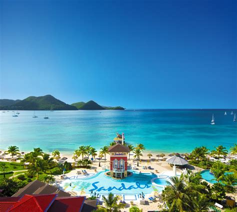 sandals holidays caribbean holidays 10 reasons to visit st lucia grabey