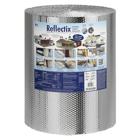 what size ceiling fan for 200 sq ft room shop reflectix 200 sq ft reflective roll insulation 24 in