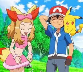 Pokemon pokemon gif ash ketchum serena look at this slut trying to