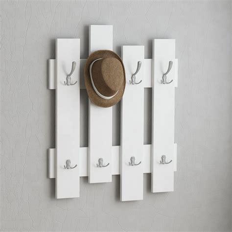 Parete In Legno Bianco by Appendiabiti Da Parete Boards In Legno Bianco Rovere