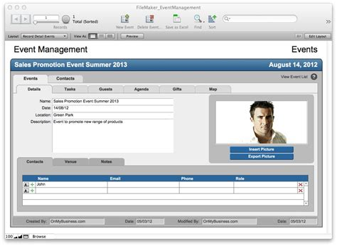 download filemaker pro document management templates free