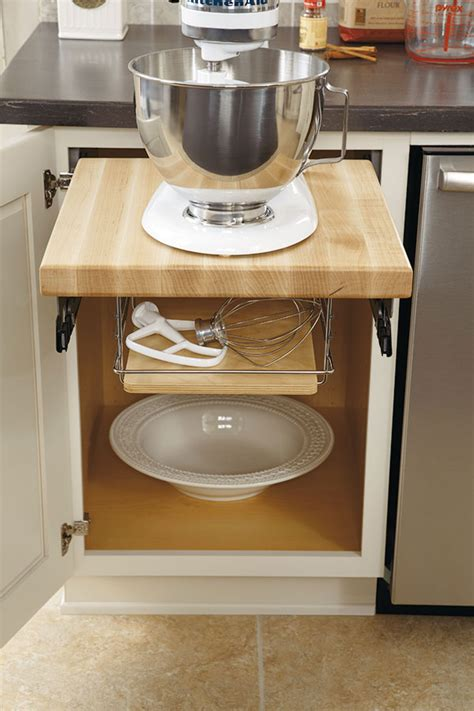 Base Mixer Shelf by At Lowes Products