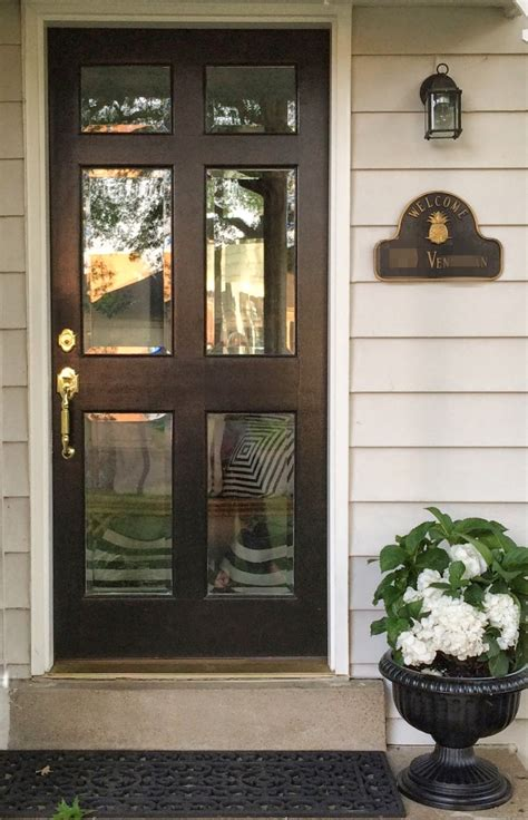 Little Black Door Glass Front Doors Don T Be Afraid Front Door Glass Panels
