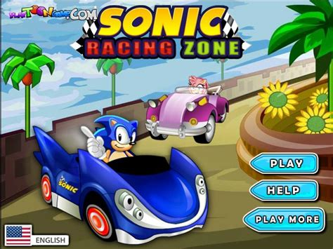 sonic racing zone funny car games