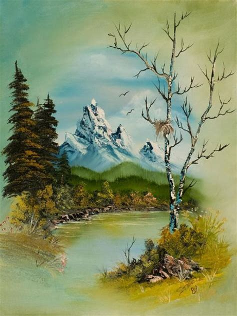 bob ross paintings archive bob ross bobs and paintings on