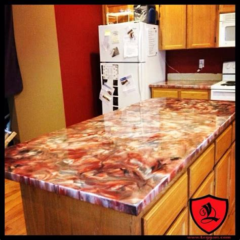 Epoxy Paint For Laminate Countertops by Leggari Products On Quot Metallic Epoxy Coating Formica Countertops Http T Co