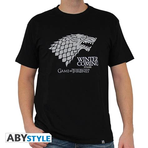Tshirt Winter Is Coming New of thrones t shirt winter is coming abystyle