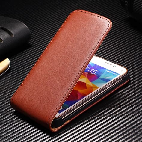 Leather Flip Cover Flip Advan I4c flip leather for samsung galaxy s5 mini g800 phone bag durable business style leather cover