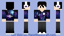 Minecraft Papercraft Sty - resty the galaxy boy minecraft skin