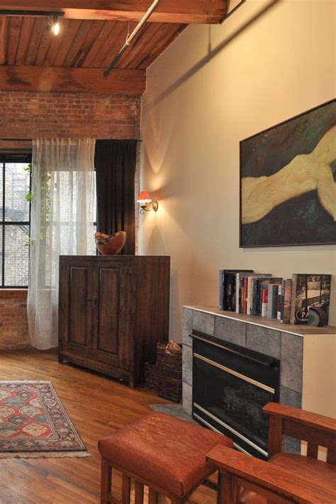 Exposed Brick Apartment In Chicago 17 Best Images About Exposed Brick Teakish Floor Boards