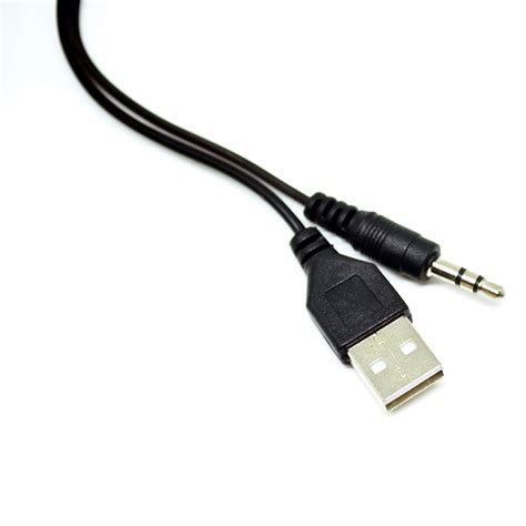 Usb Kabel kabel splitter micro usb ke aux 3 5mm usb black