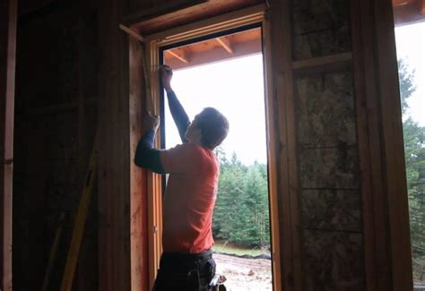 installing windows house passive house construction by h h portland seattle green builder