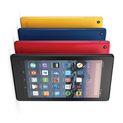 amazon tablet amazon releases cheaper fire hd 8 and new fire 7 tablets