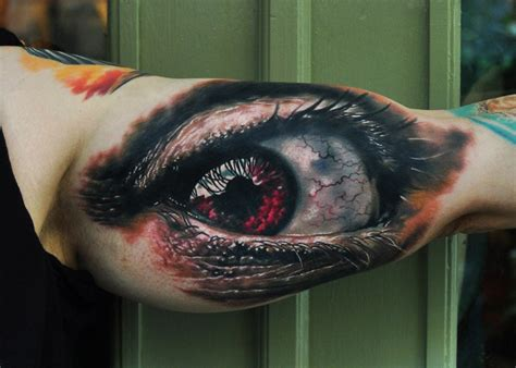 eyeball armpit tattoo coolest inner arm tattoos you must see best tattoo