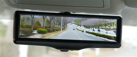 Magic Display Mirror Switches Between You And Would You by Nissan Transforms The Rearview Mirror