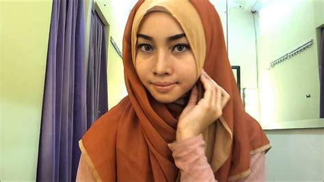 tutorial hijab pesta dewi neelam 27 foto tutorial hijab paris dewi neelam untuk kamu