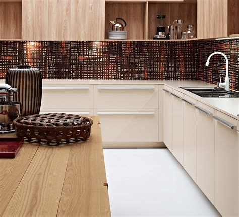 trendy backsplash modern italian kitchens with modular cabinets colorful