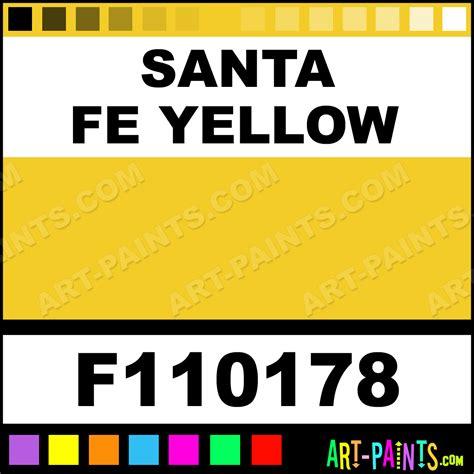 santa fe yellow railroad enamel paints f110178 santa