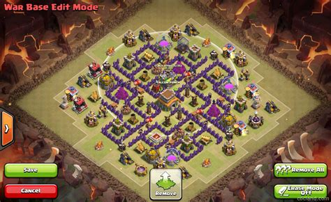 go wipe sweeper anti war air base th8 the windrunner crazy town hall 8 war base clash of